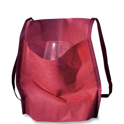 Porte verre tissu intissé