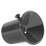 Crachoir classique noir anses 40103