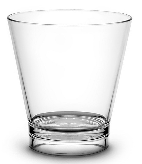 Verre à cocktail 33 cl transparent incassable