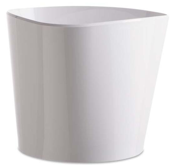 Vasque acrylique mida blanche
