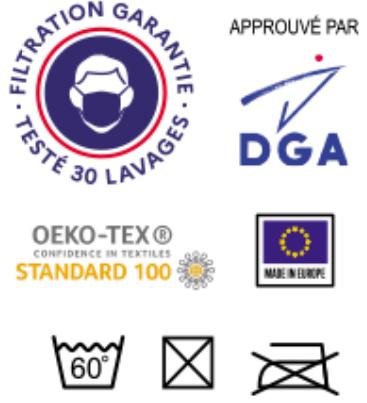certicfication masque DGA
