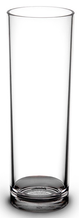 Tube long drink 22 cl transparent incassable