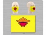 masque canard