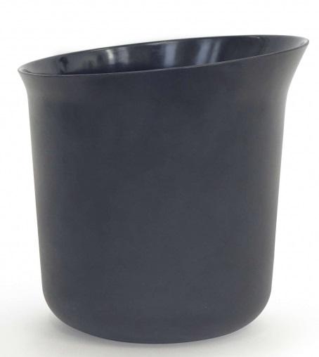 seau fibre de bambou noir