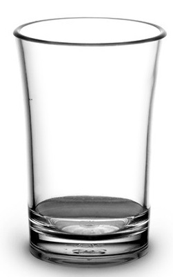 Verre à shot 3 cl transparent incassable