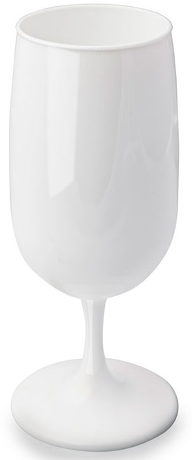 Verre INAO 18 cl incassable blanc