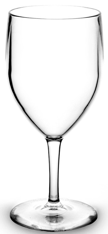 Verre eau 25cl transparent incassable