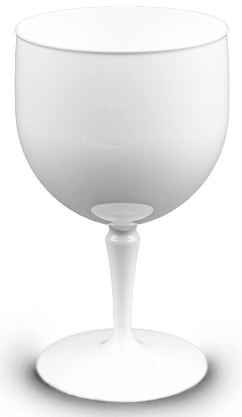 Verre piscine 67 cl blanc incassable